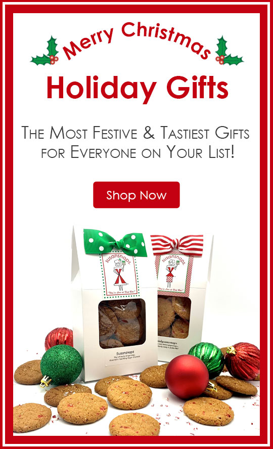 Holiday Gifts: The Most Festive & Tastiest Gifts for Everyone on Your List!